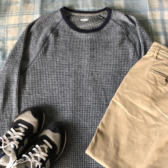 Old Navy Other - Old Navy Blue & Silver Sweater, Never Worn!